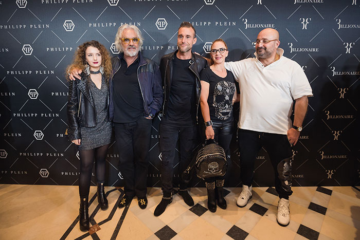 1901d99505a2 More than 300 persons attented yesterday evening to the grand official  opening of Philipp Plein and Billionaire boutiques, located at The Grand  Avenue, ...