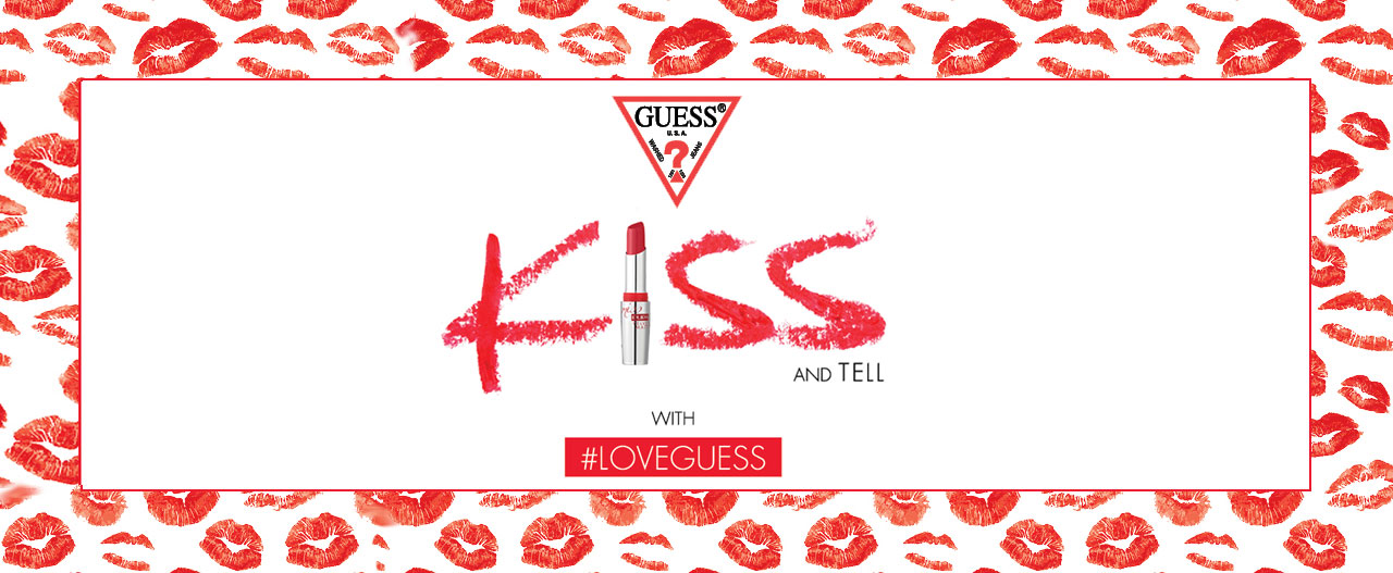 This Valentine. You ve got a kiss. XOXO, Guess   Global Brands ... d95523871cc