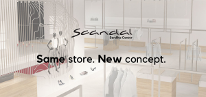 Scandal, Serdika Center с нова визия!