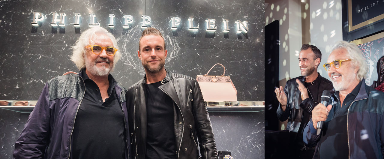 a1cfb5a48fe3 The grand opening of Philipp Plein and Billionaire boutiques in Bucharest