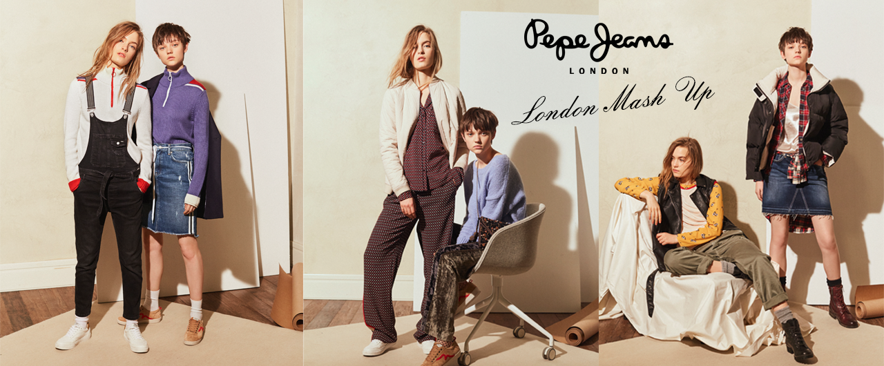 Pepe Jeans London Mash Up