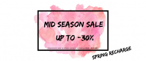 MID SEASON SALE Spring Recharge