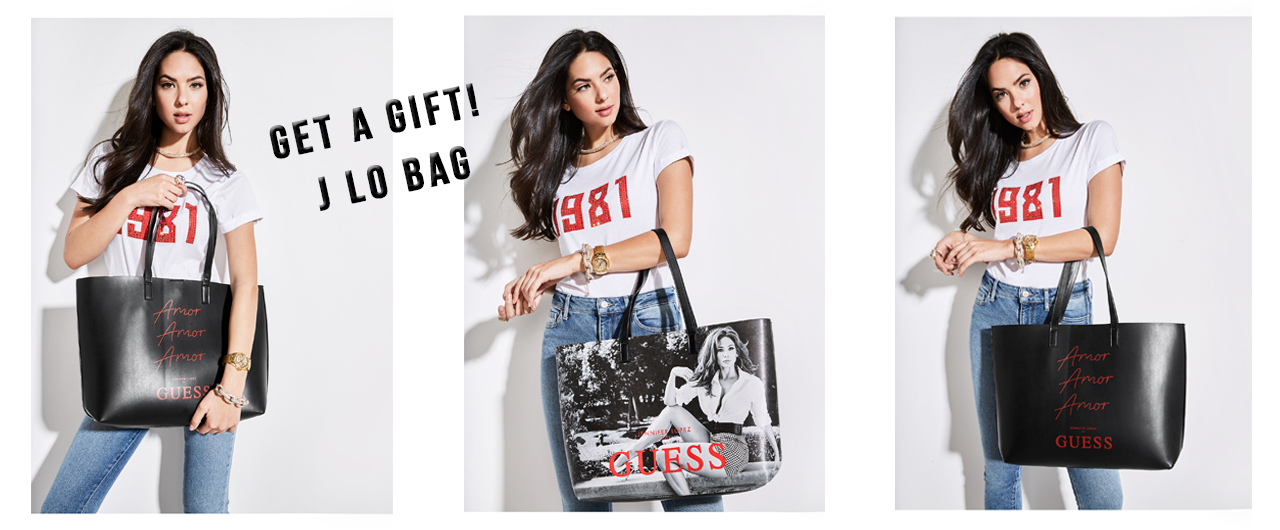 Get a gift  J LO bag by GUESS   Global Brands Distribution 133f5f47cbc