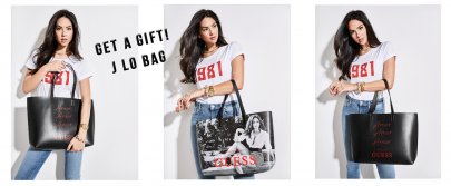 Get a gift: J LO bag by GUESS