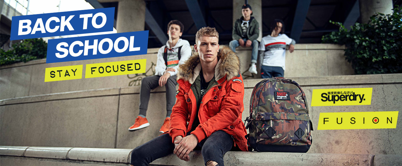 Back to school в магазини Fusion/Superdry