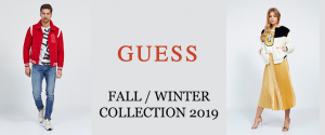Guess collection Fall/Winter 2019