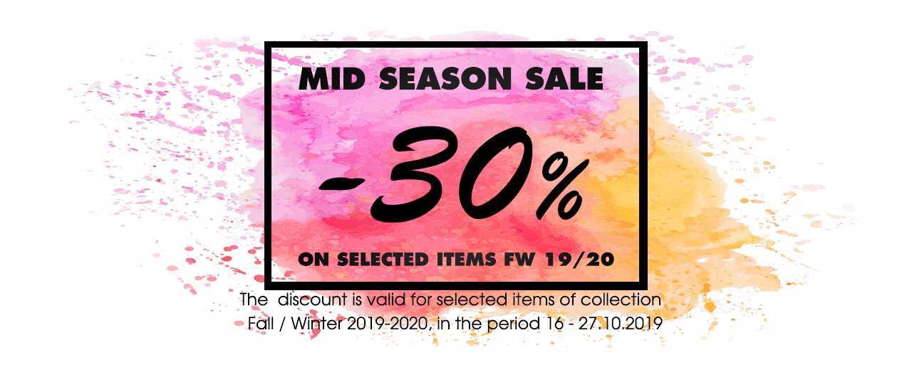 Mid Season Sale  FW19
