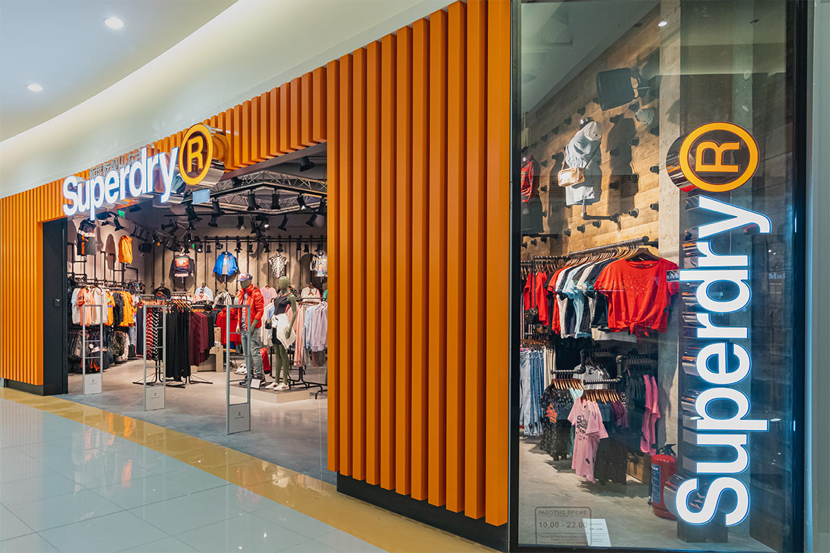 valtava myynti ostaa hyvää suurin alennus SUPERDRY | Global Brands Distribution